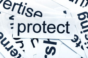 Protect word cloud