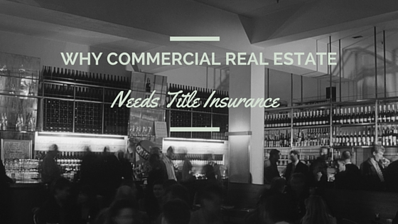 Why Commercial Real Estate