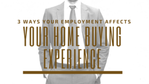 home buying employment