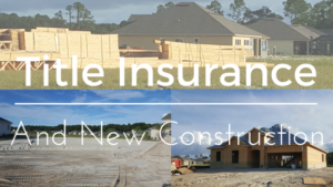 title insurance new construction