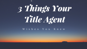 title agent